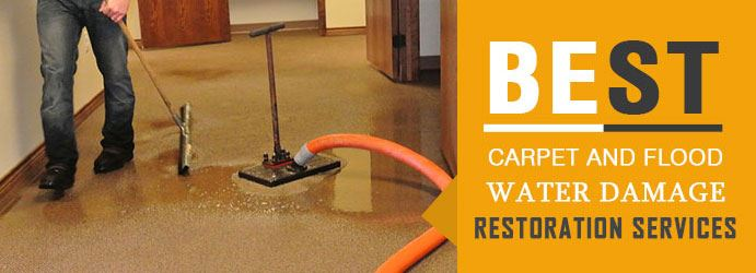 Carpet and Flood Water Damage Restoration Services in Springbank